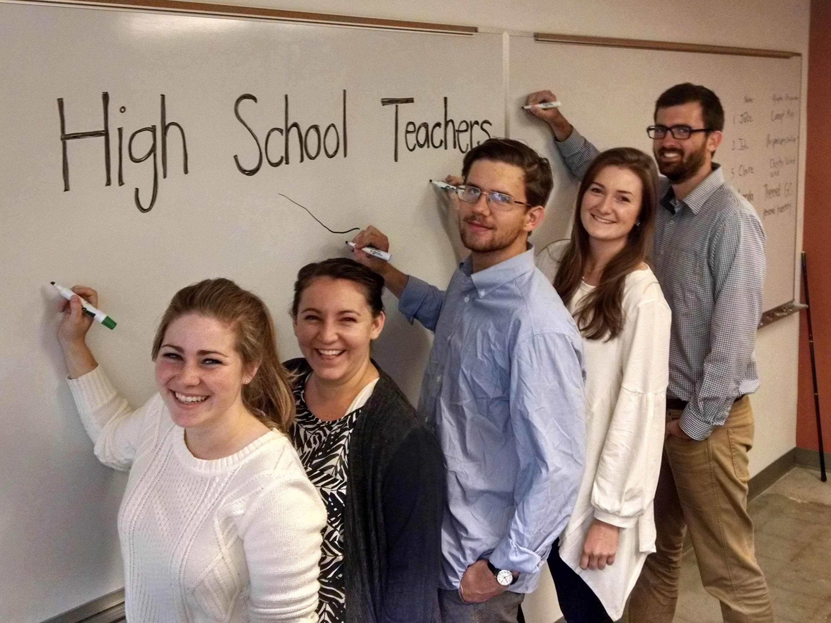 Aspiring High School Teachers