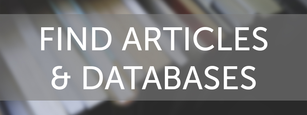Find Articles & Databases